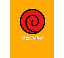 Uzumaki Clan Photographic Print