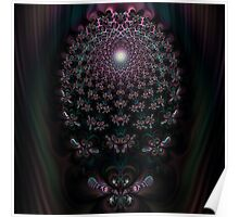 Fireflies New Awakening Fractal Poster