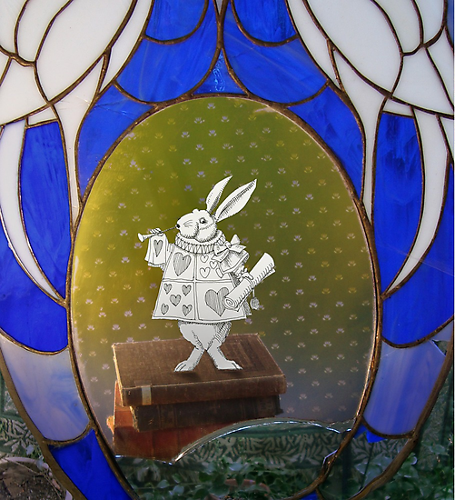 The White Rabbit before the Trial by SusanSanford