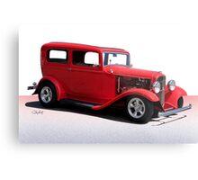 1932 Ford Tudor Sedan Metal Print