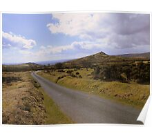 Dartmoor: The Road at Ollsbrim Poster