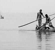 Lake fisherman by loinfr