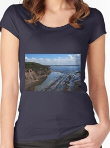 Ulladulla Coastline Women's Fitted Scoop T-Shirt