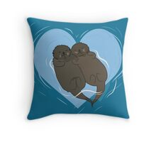 My Otter Half  Throw Pillow