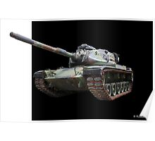 M48A2 Tank - Military Track Vehicle Poster