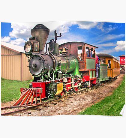 Narrow Gauge Train-HDR Poster