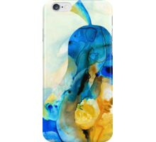 A Nice Pear - Abstract Art By Sharon Cummings iPhone Case/Skin