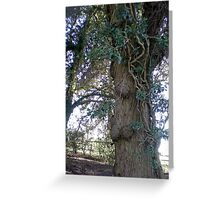 Tree in Upton Park, Easter Greeting Card