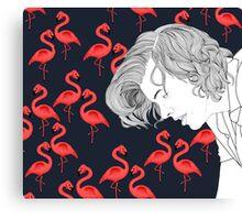 Flamingo Harry  Canvas Print