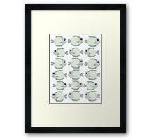 School Of Cool Fish Framed Print