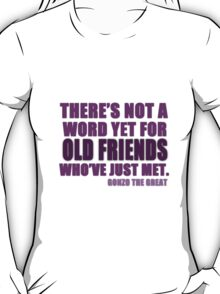 There's Not a Word Yet...(Purple) T-Shirt