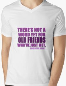 There's Not a Word Yet...(Purple) Mens V-Neck T-Shirt
