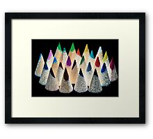 Pencil Light Framed Print