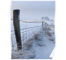 Cherhill In the Snow Poster