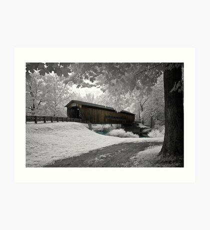 """Benetka Road Bridge"" Art Print"