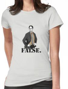 FALSE. Womens Fitted T-Shirt