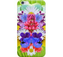 Mirrored Flowers iPhone Case/Skin