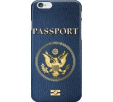 Simulated Passport Cover For Samsung or iPhones iPhone Case/Skin