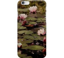 The lily pond. iPhone Case/Skin