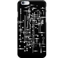 Kree City Blueprints (White) iPhone Case/Skin
