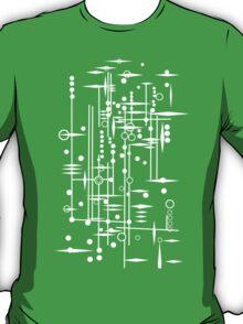 Kree City Blueprints (White) T-Shirt