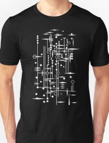 Kree City Blueprints (White) Unisex T-Shirt
