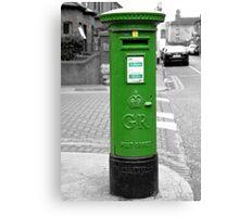 Postbox, Dublin Canvas Print