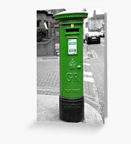 Postbox, Dublin Greeting Card