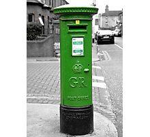 Postbox, Dublin Photographic Print