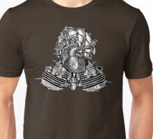 V Twin Heart (Victorian Edition) Unisex T-Shirt