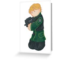 Plushie Sam Carter Greeting Card