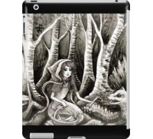 feed the wolfs  iPad Case/Skin