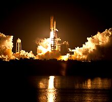 STS-131 Launch - Go Discovery!!! by Per Hansen