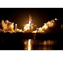 STS-131 Launch - Go Discovery!!! Photographic Print