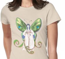 Madame Butterfly 2 Womens Fitted T-Shirt