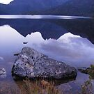 reflections on Dove Lake (Tasmania) by gaylene