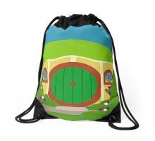 Hobbit Bag End Drawstring Bag