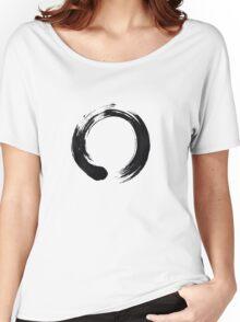 Zen Enso Circle Women's Relaxed Fit T-Shirt