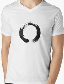Zen Enso Circle Mens V-Neck T-Shirt