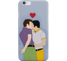 Klaine Kissing iPhone Case/Skin