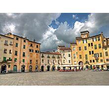 Piazza dell'anfiteatro Photographic Print