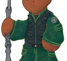 Plushie Teal'c by Kimberly Weatherston
