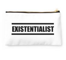 Existentialist Studio Pouch