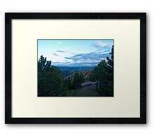 Colorado Morning Framed Print