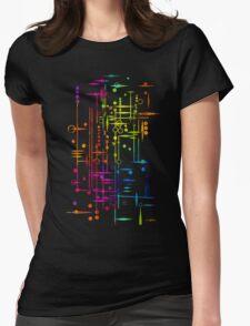 Kree City Blueprints (Watercolour Splatter) T-Shirt