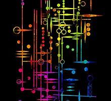 Kree City Blueprints (Watercolour Splatter) by kasia793