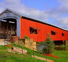 Indiana's Most Famous Covered Bridge by David Owens