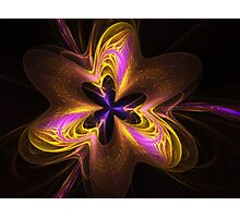 Etheral Flower Power Photographic Print