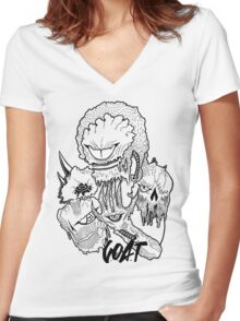 CYCLOPS Women's Fitted V-Neck T-Shirt