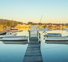 Davistown boats by Bruce Reardon